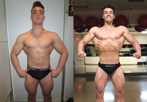 Transformation of the Month Luca